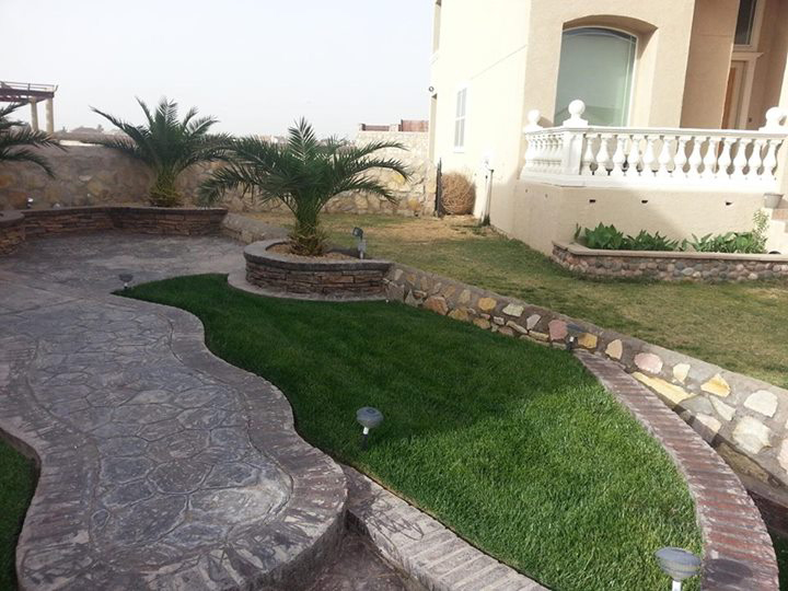 luscious green lawn thanks to ecosmarte irrigation system