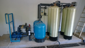 ECOsmarte well water system set up