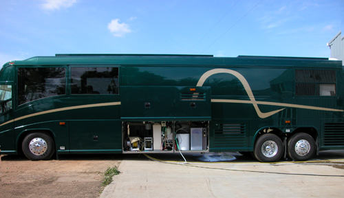 RV with ECOsmarte system installed