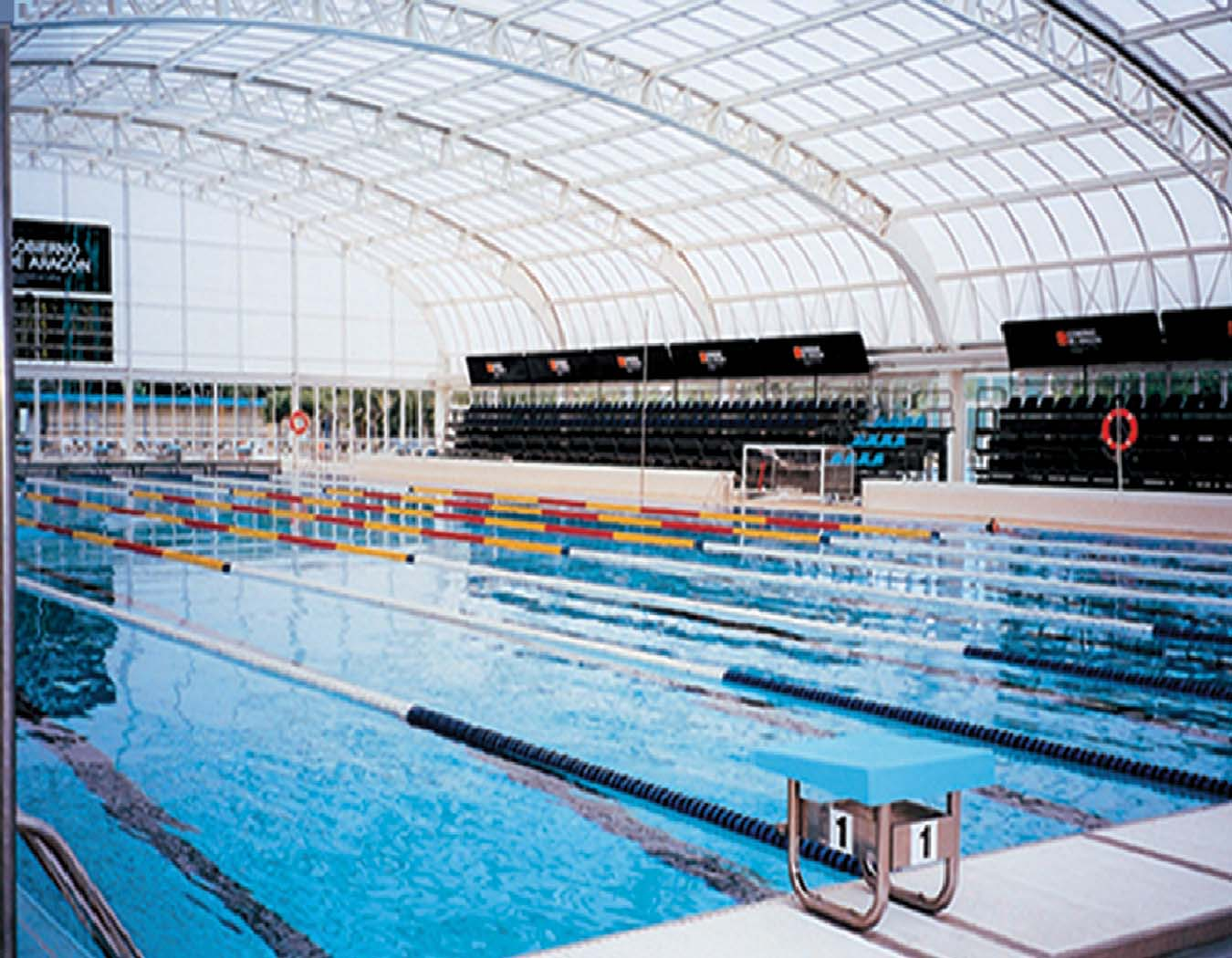 Olympic sized European Union Training Pool