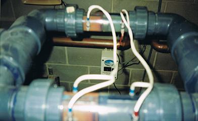 Rainwater wiring