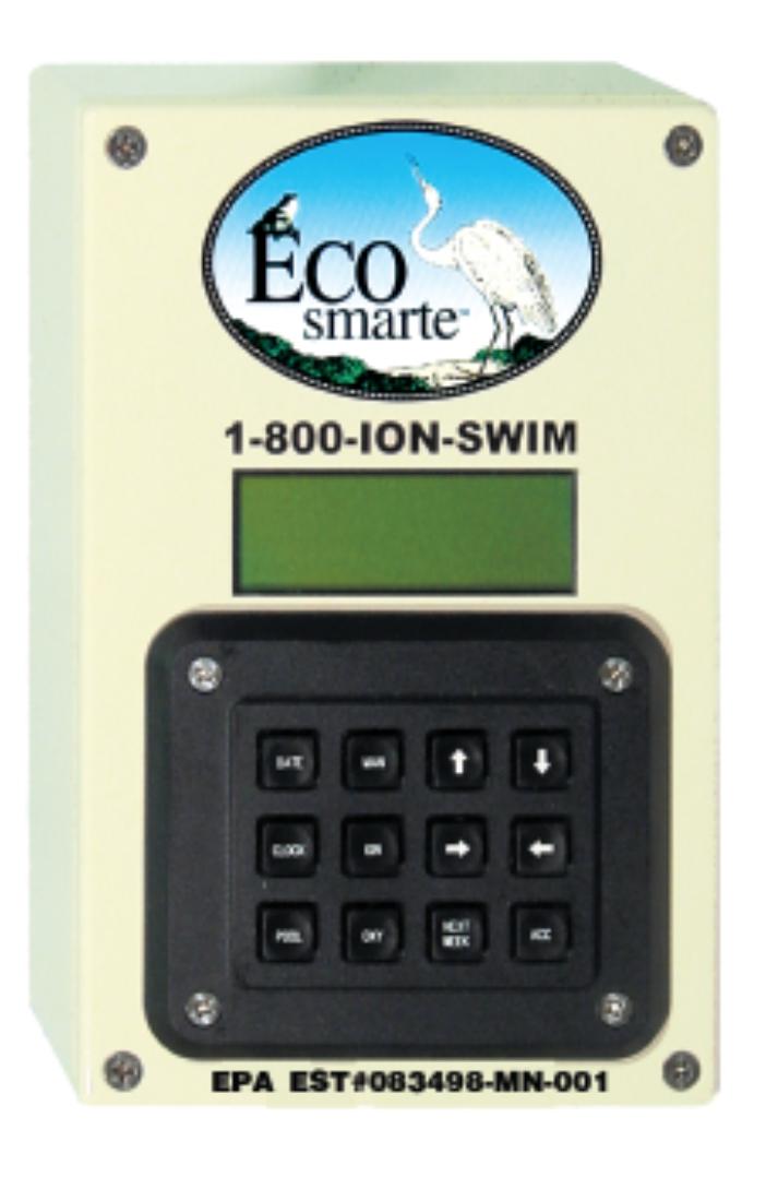 ECOsmarte control panel.