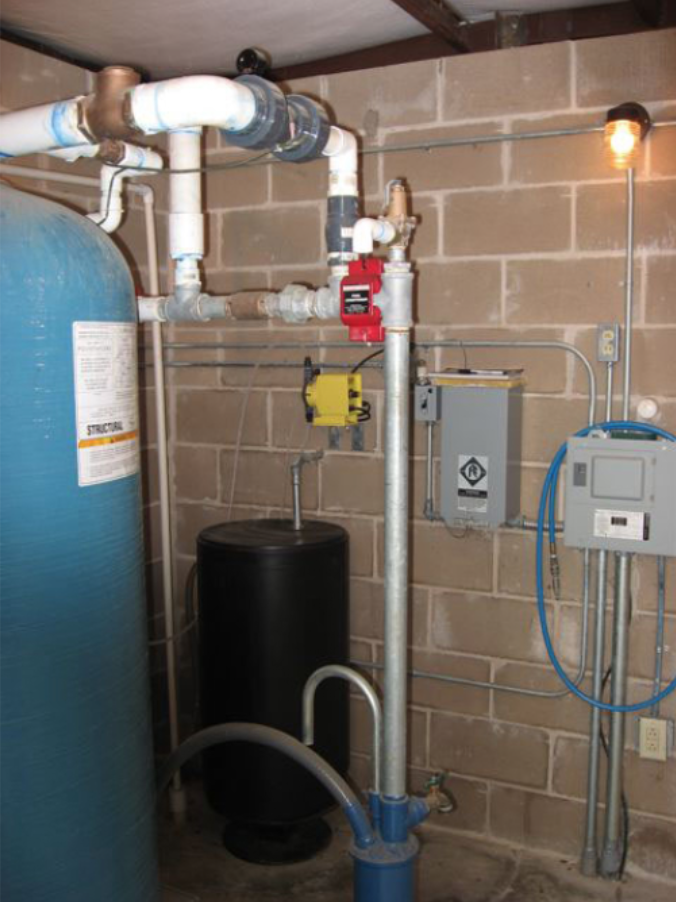 ECOsmarte system set in a customers home