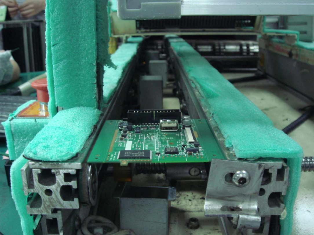 ECOsmarte circuit chip being made