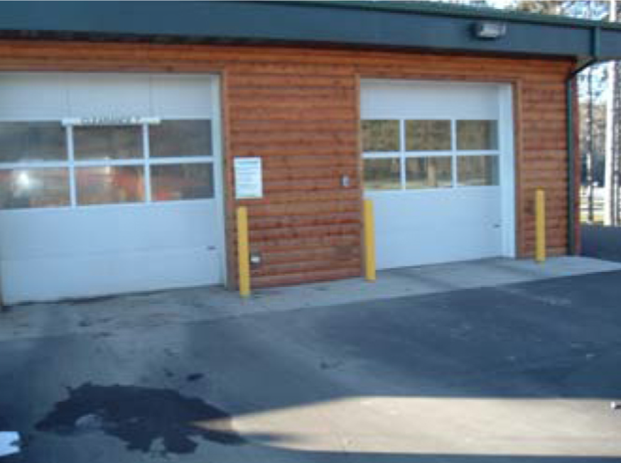 Car Wash garage doors
