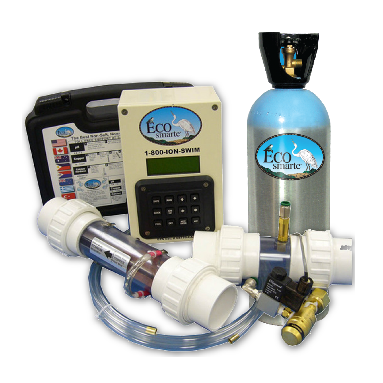 Programmable Chlorine Free and Salt Free Pool System