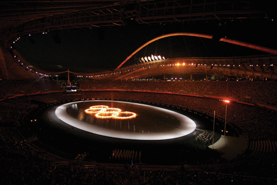 2004 Athens, Greece Olympic Opening Ceremony