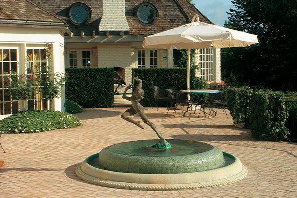ECOsmarte fountain feature