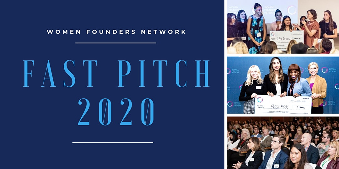 Women Founders Network 2020 Fast Pitch Virtual Event