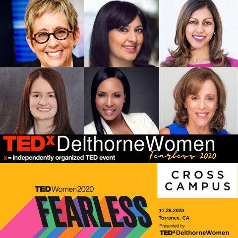 CROSS CAMPUS HOSTS: TEDXDELTHORNEWOMEN