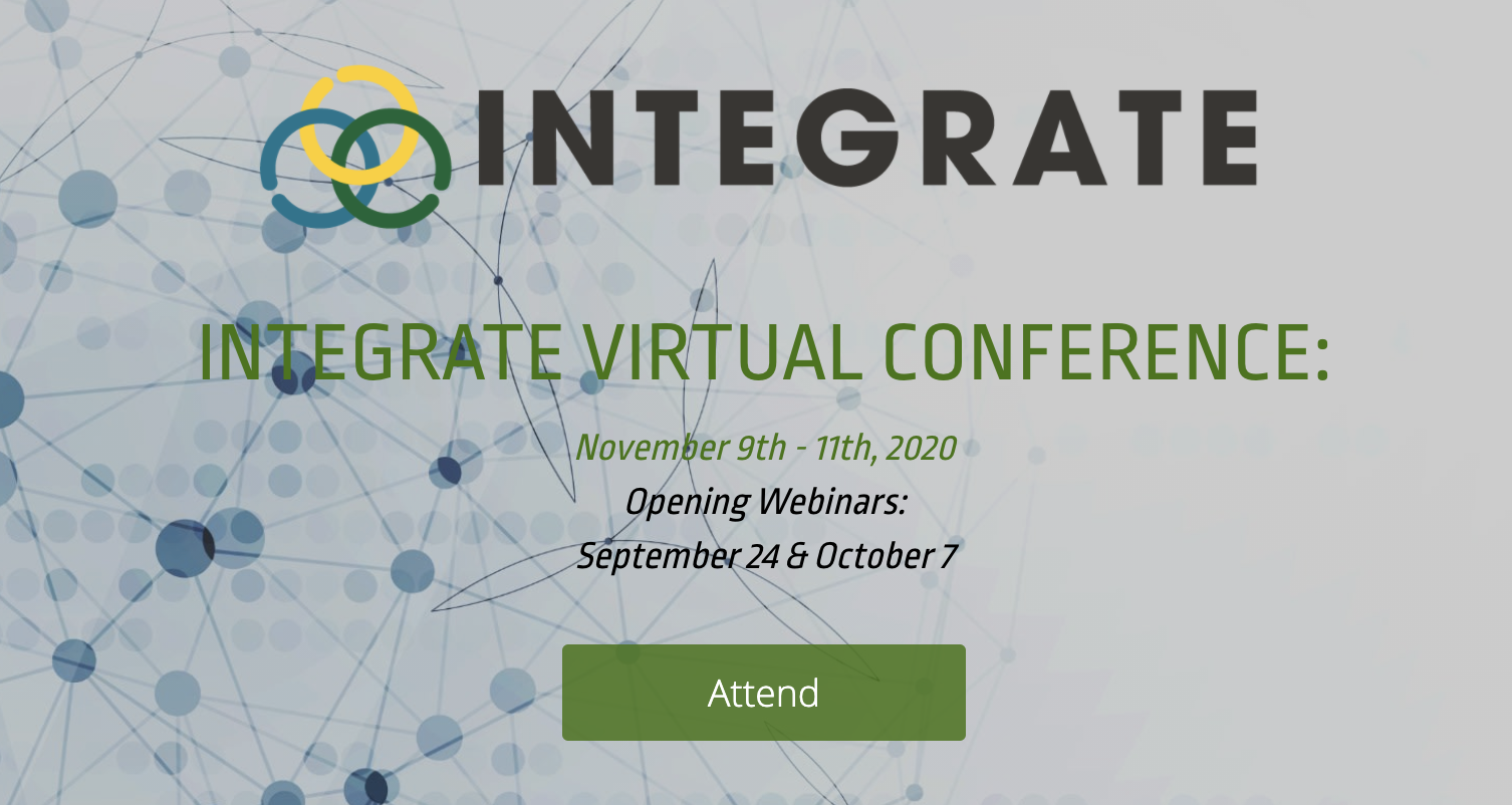 Sustainable Brands (SB) and SOCAP Global (SOCAP) Presents: Integrate Virtual Conference