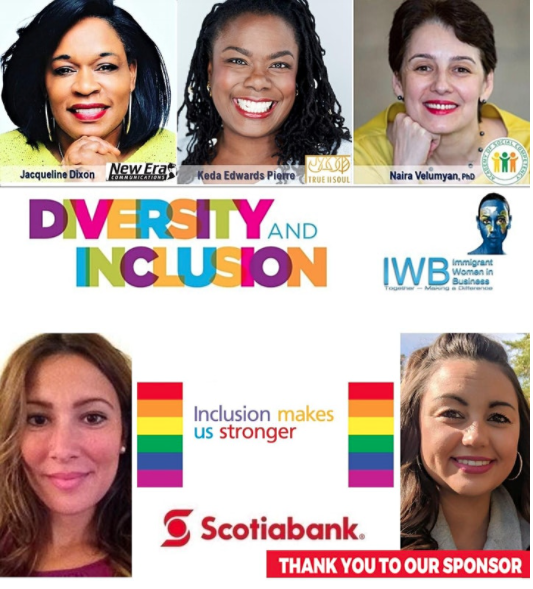 Immigrant Women in Business Presents DIVERSITY. INCLUSION & EMPOWERMENT