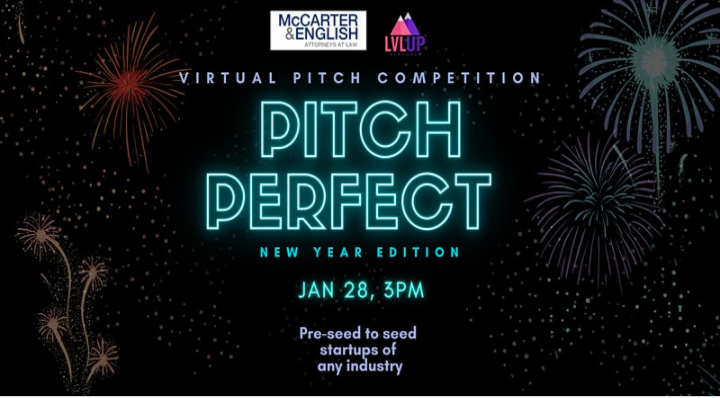 "LvlUp Ventures Presents ""Pitch Perfect: The New Year Edition"""