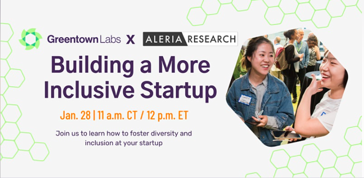 Greentown Labs Presents Building a More Inclusive Startup