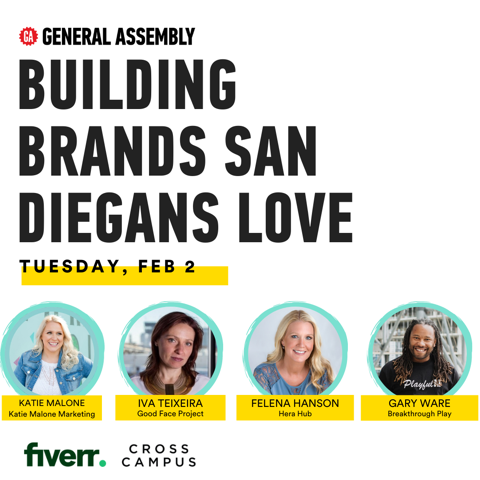 General Assembly Presents: Building Brands San Diegans Love