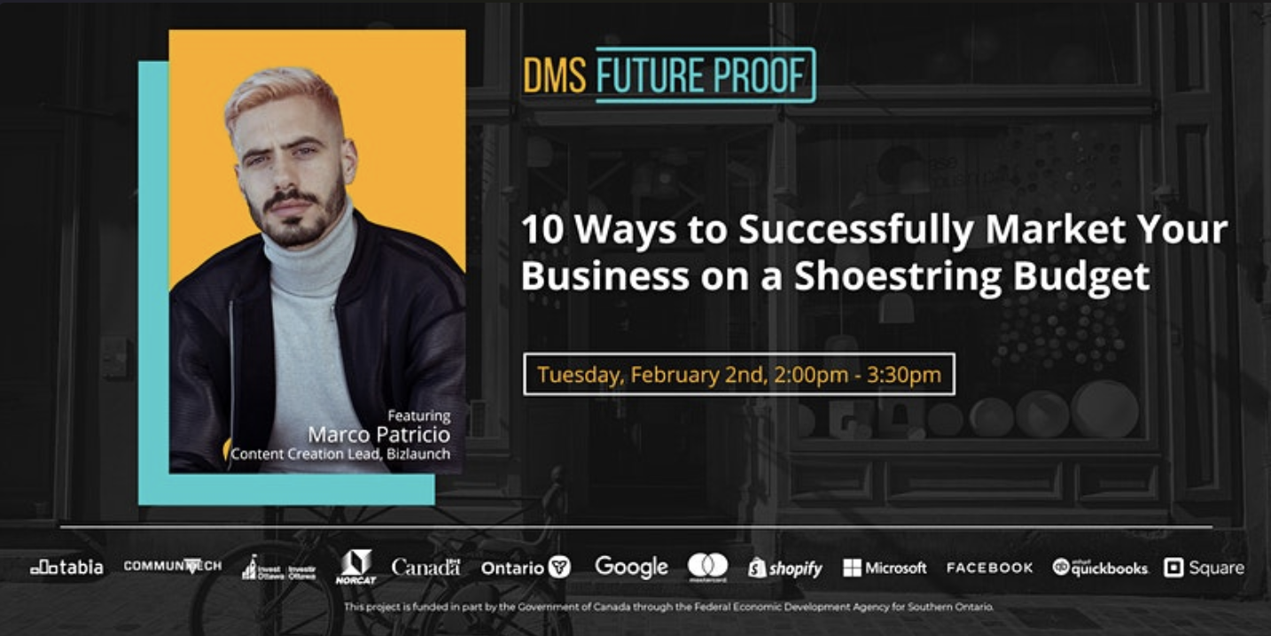Digital Main Street Presents: 10 Ways to Successfully Market Your Business on a Shoestring Budget