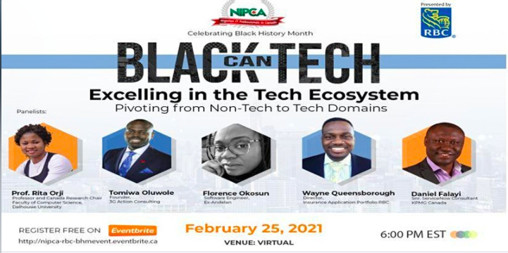 NIPCA Presents Black Can Tech: Excelling in the Tech Ecosystem