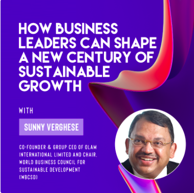 Ivy Digital Presents: How Business Leaders Can Shape a New Century of Sustainable Growth with Sunny Verghese