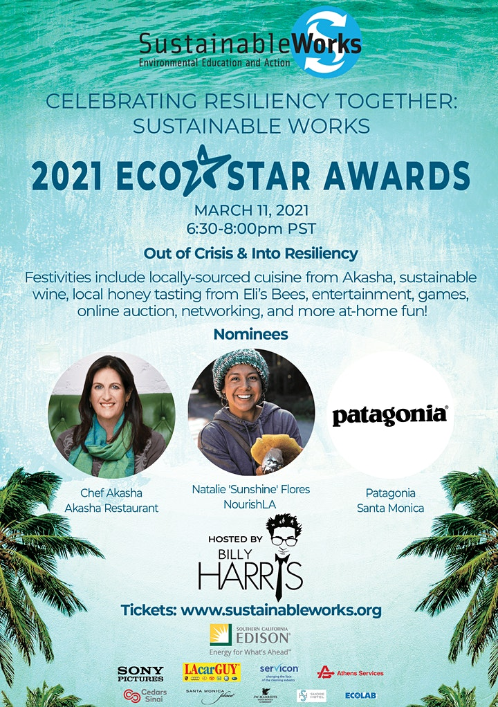 Sustainable Works Eco Star Awards - Vegan Dinner & Honey Tasting Experience image