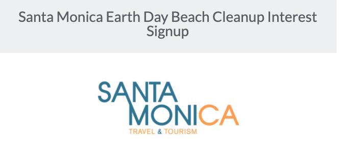 Santa MoniCARES: Earth Day Beach Cleanup