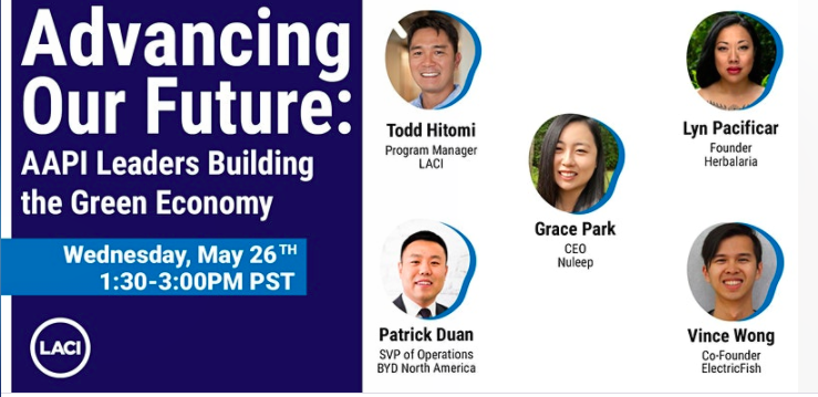 LACI: Advancing Our Future: AAPI Leaders Building the Green Economy