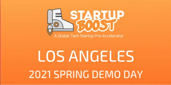Startup Boost 2021 Spring Demo Days