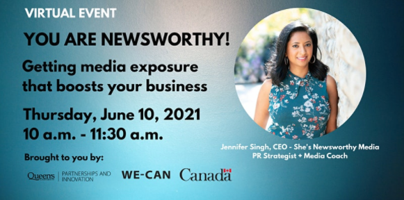 You Are Newsworthy: Getting media coverage that boosts your business