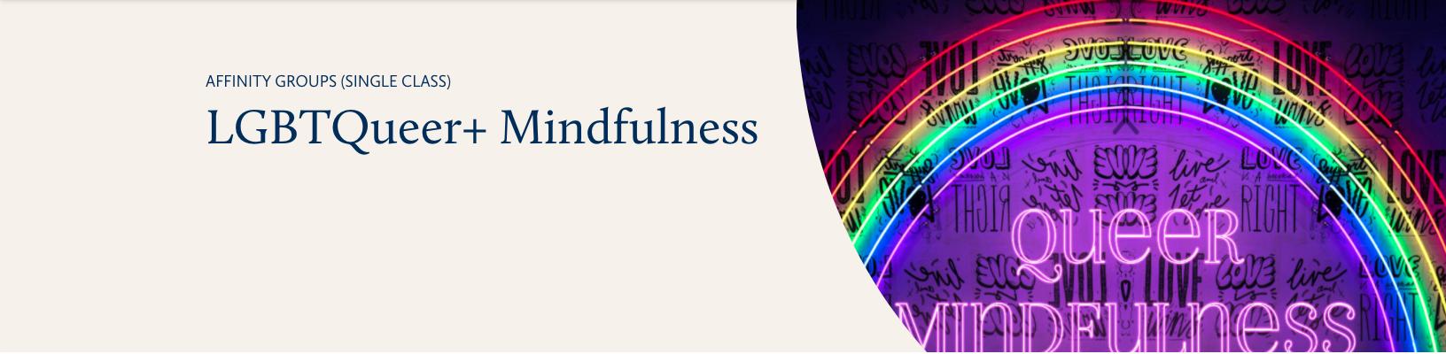 insightLA meditation: LGBTQueer+ Mindfulness