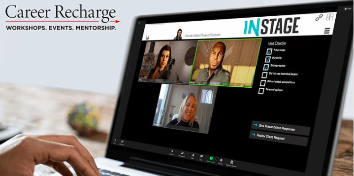 "Seneca College Presents: ""Career Recharge: InStage Live - Introduce Yourself"""