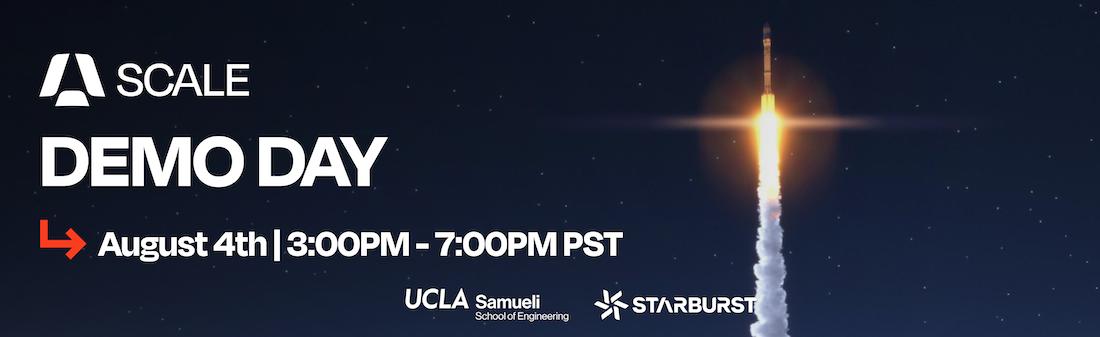 Starburst presents: SCALE Virtual Demo Day