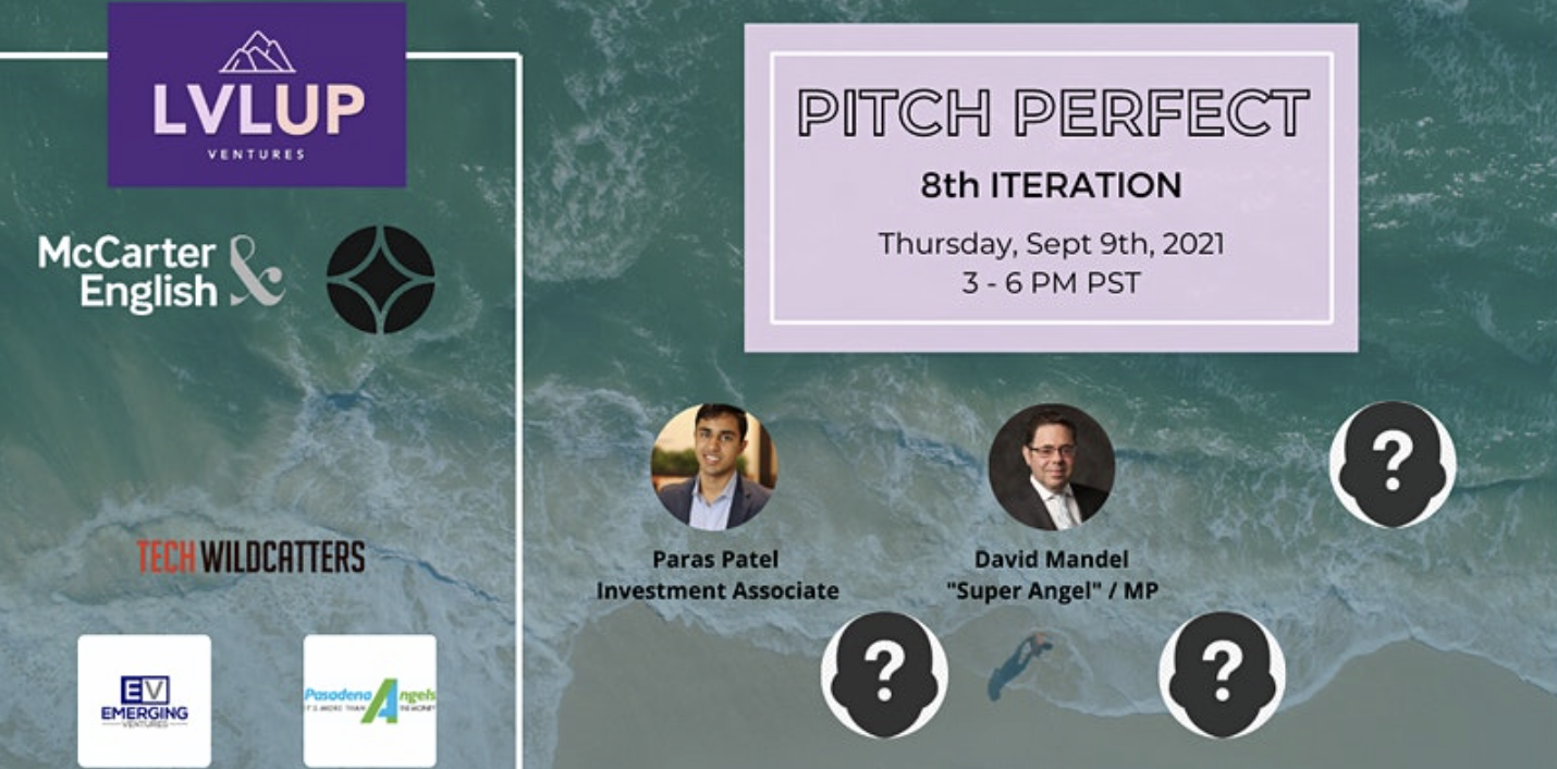LVLUP Ventures: Pitch Perfect