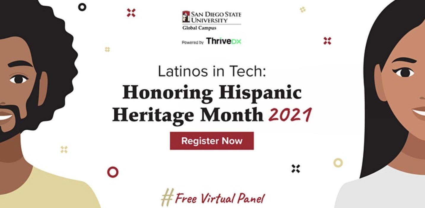 Latinos in Tech: Honoring Hispanic Heritage Month 2021