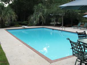 Beautiful and Clear Pool in Georgia, USA