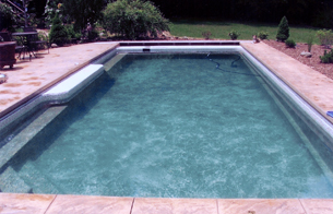 Chemical-free pool from a pool customer in North Carolina