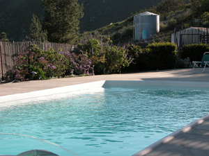 Easy to install chemical and salt free ECOsmarte pool in Crest, California