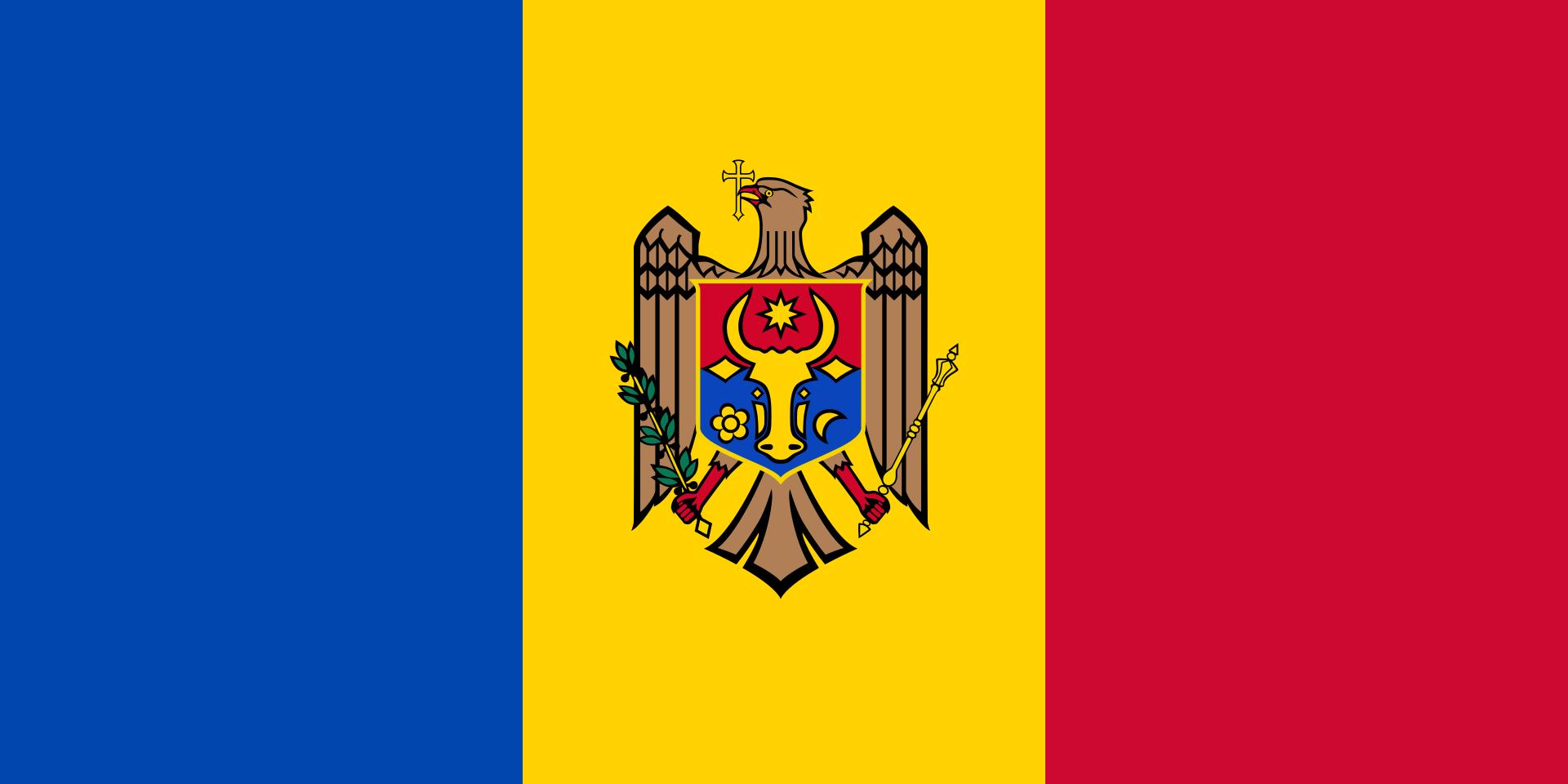 Chemical-Free Moldova Pool Dealer Flag