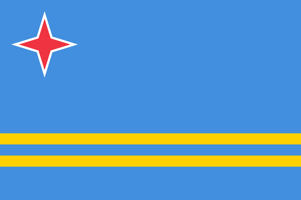 Chemical-Free Aruba Pool Dealer Flag