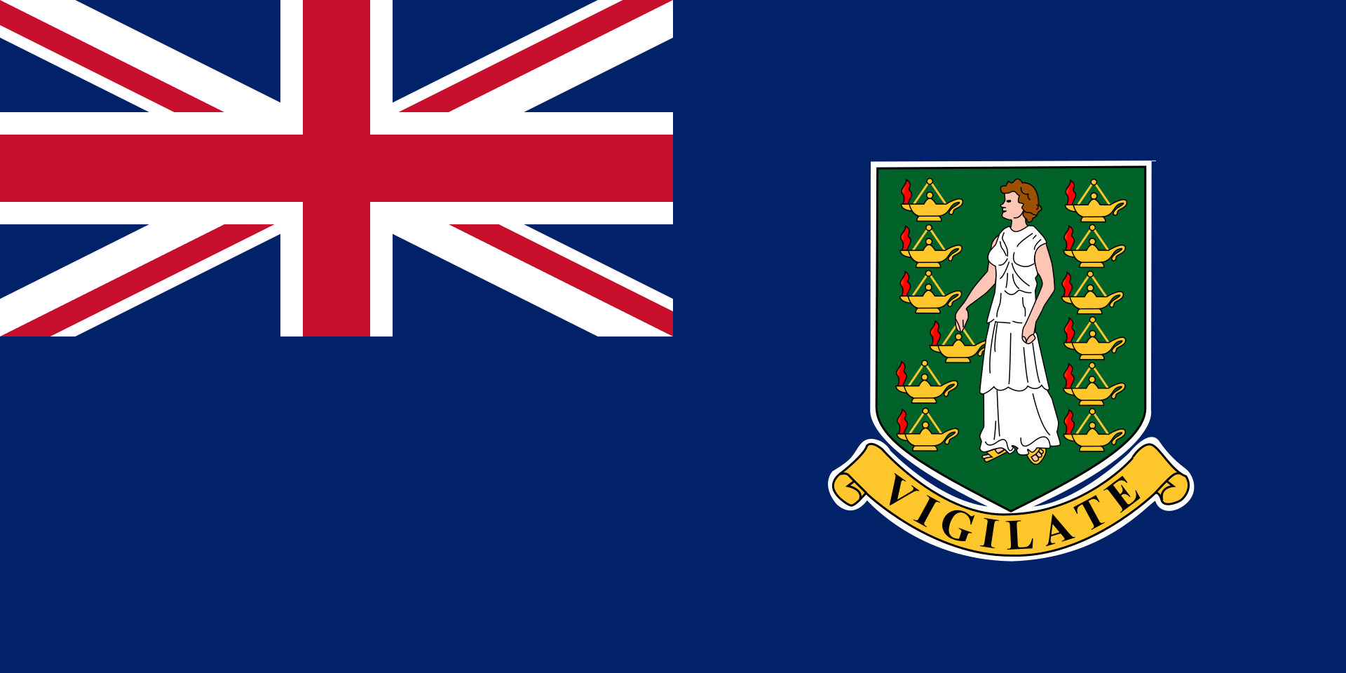 Chemical-Free British Virgin Islands Pool Dealer Flag