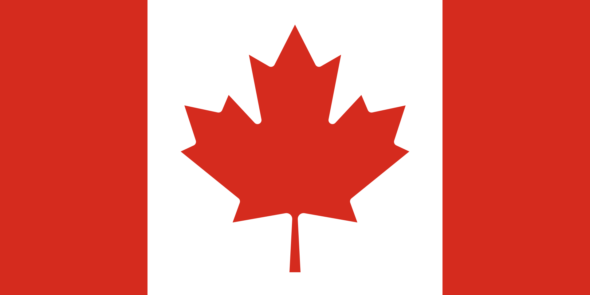 Chemical-Free Canada Pool Dealer Flag