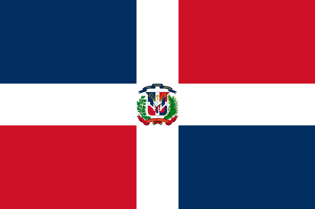Chemical-Free Dominican Republic Pool Dealer Flag