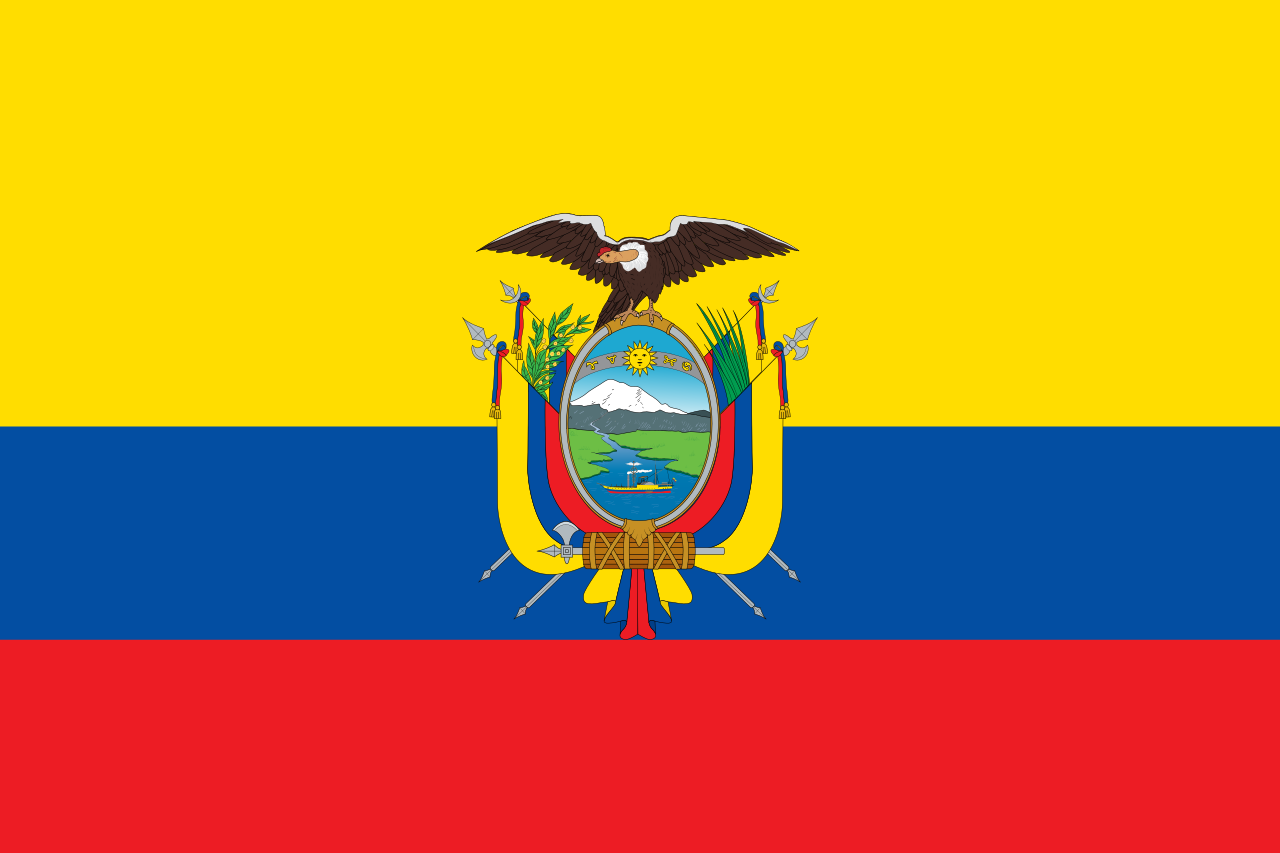 Chemical-Free Ecuador Pool Dealer Flag