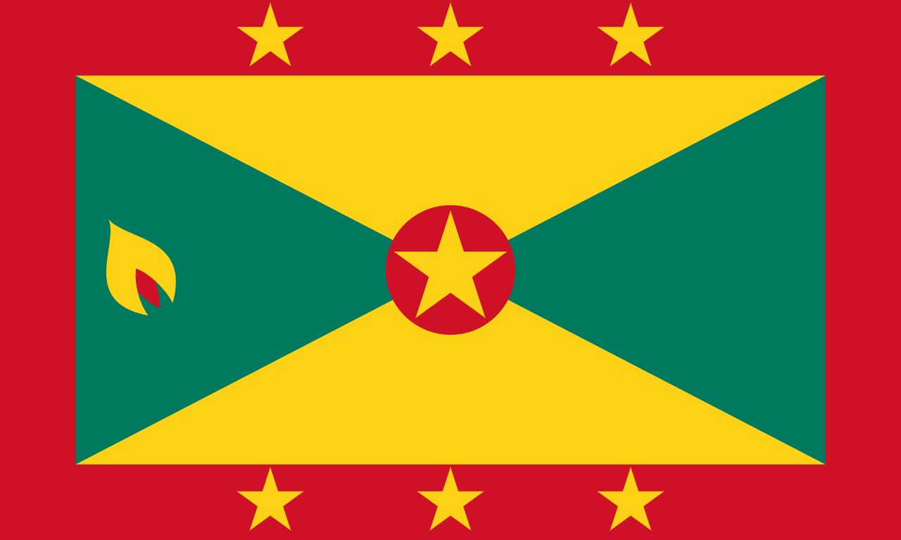 Chemical-Free Grenada Pool Dealer Flag