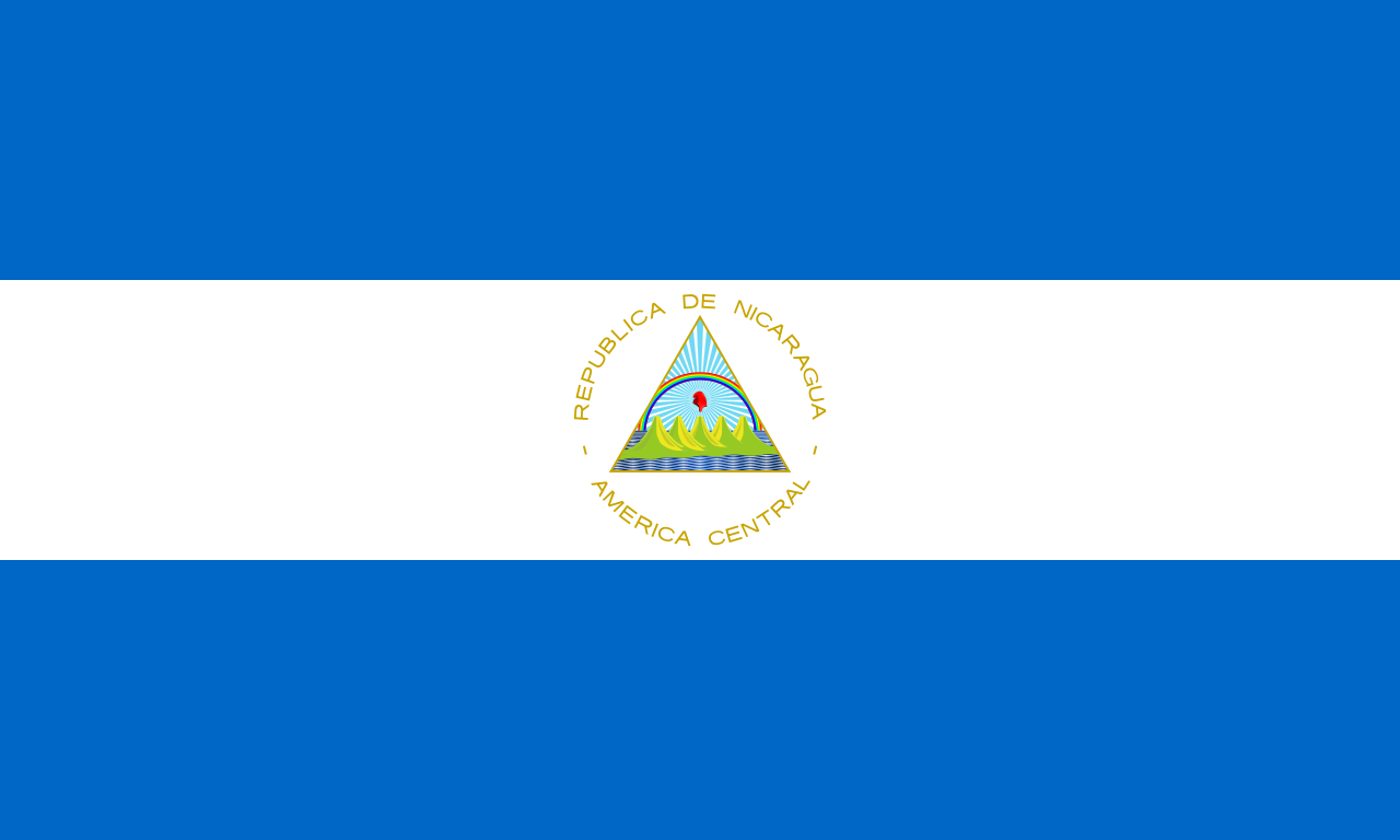 Chemical-Free Nicaragua Pool Dealer Flag