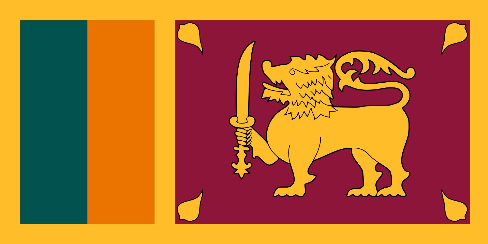 Chemical-Free Sri Lanka Pool Dealer Flag