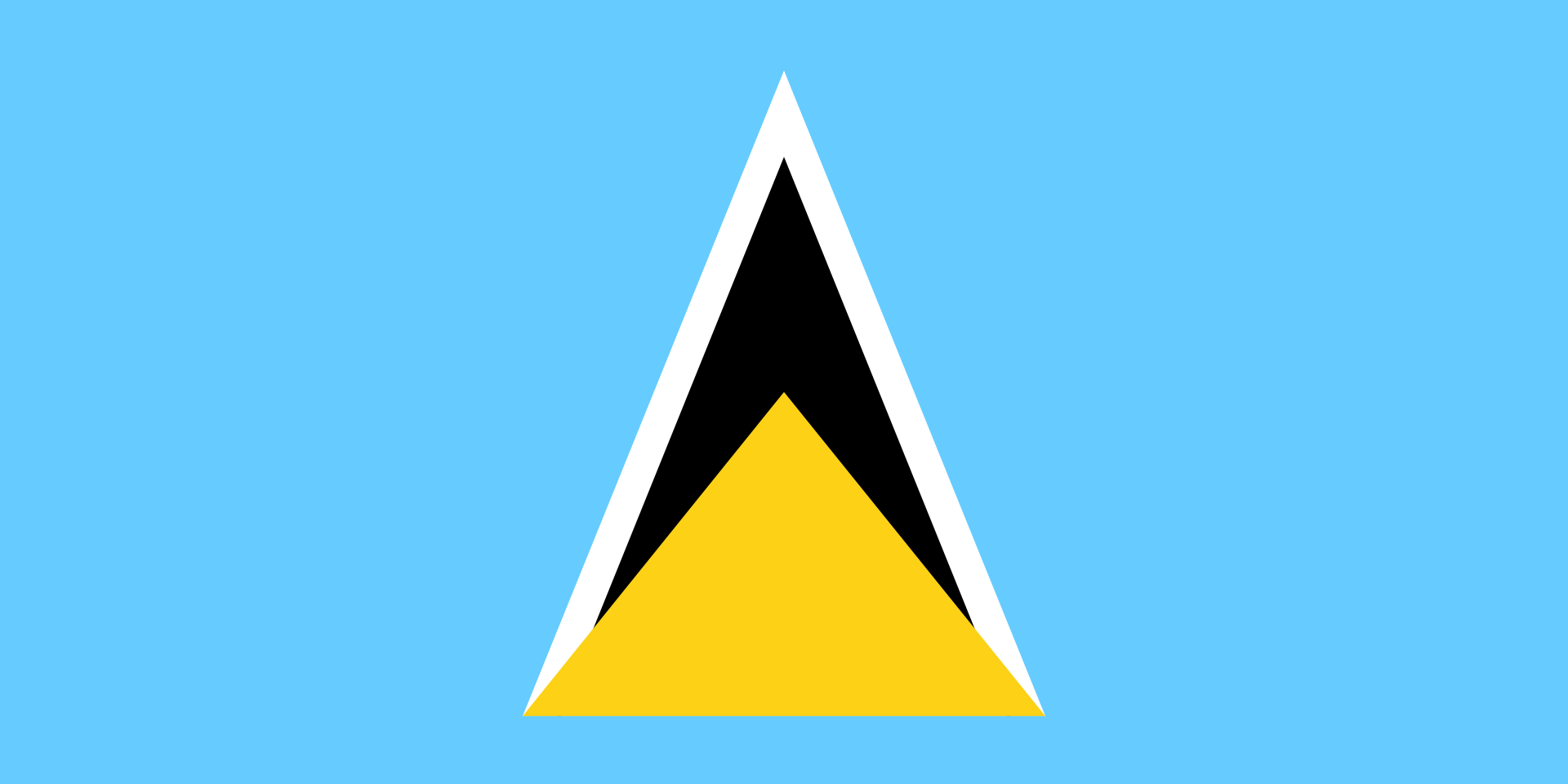 Chemical-Free St Lucia Pool Dealer Flag