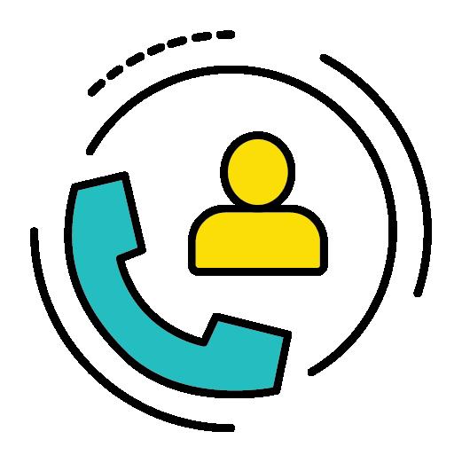 customer relations career icon