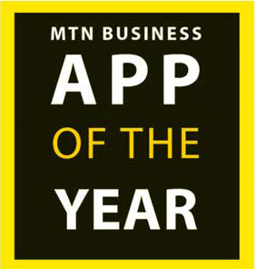 MTN business app of the year logo