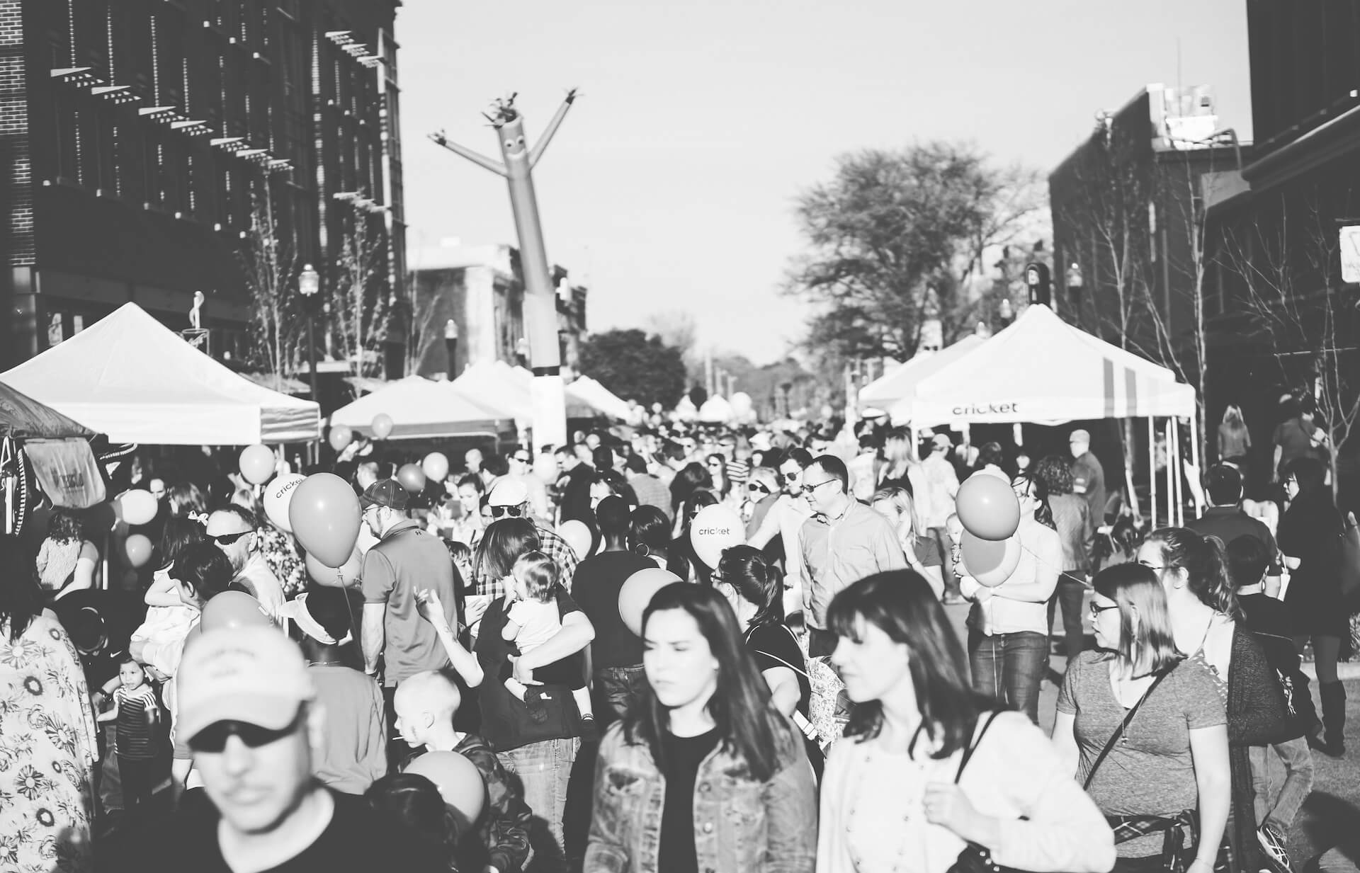 First Friday event on Square