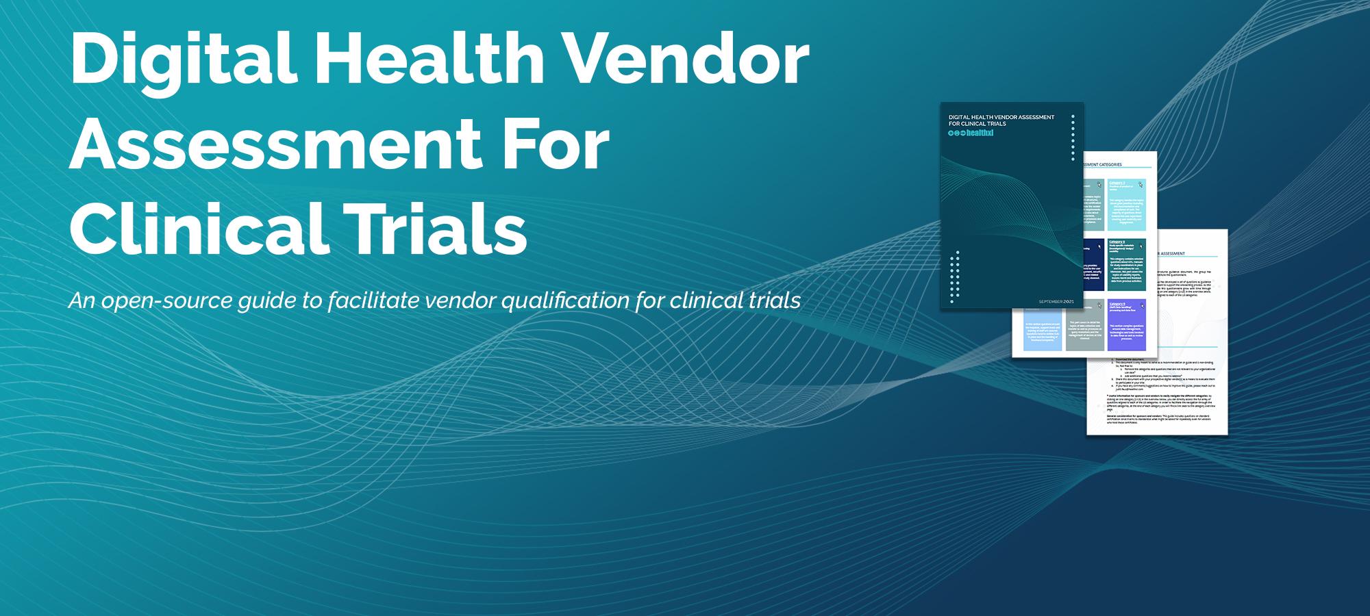 Digital Health Vendor Assessment for Clinical Trials