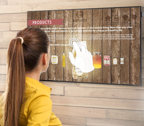 #1 Requirement When Creating Interactive Content for Touch-first Digital Signage
